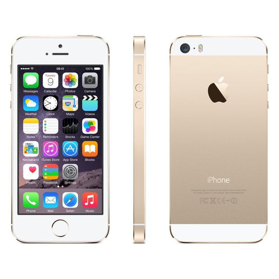 iphone 5s gold free